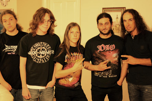 2011 - ANTE RAVIC (video / assistant webmaster) with JESSE DUERKORP (Sound engineer) with ROCKY of MYTERY and BLACK MAJESTY'S HANNY & GIO