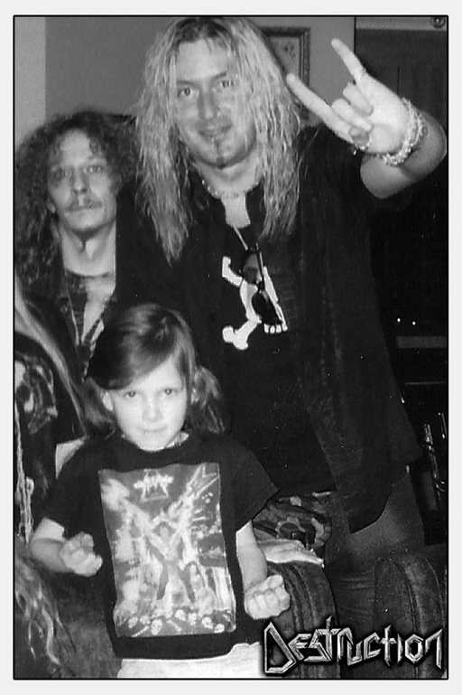 2002 - ROCKY of MYSTERY (aged 5) at home with MIKE and SCHMIER of DESTRUCTION